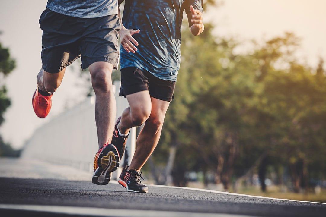slabit prin alergare
