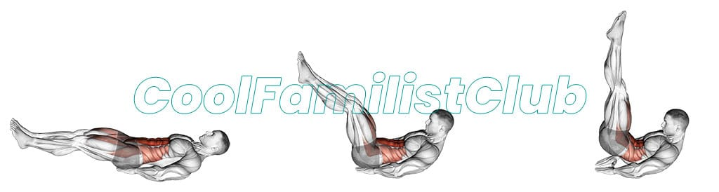 Exercitiu pentru abdomen: Ridicari de picioare si solduri din întins