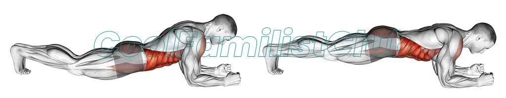 Exercitiu pentru abdomen: Indreptari frontale