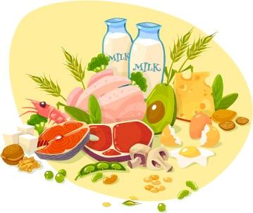 slabesti mancand proteine